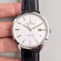 Replica Jaeger-LeCoultre Geophysic True Second 8018420 N Stainless Steel White Dial Swiss Calibre 770