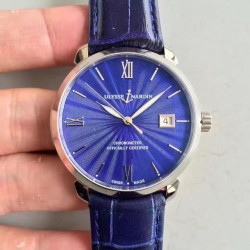 Replica Ulysse Nardin San Marco Classico 8153-111-2-E3 FK Stainless Steel Blue Dial Swiss UN-815