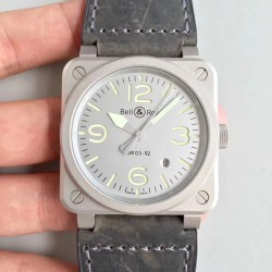 Replica Bell & Ross BR 03-92 Horolum Limited Edition BR Stainless Steel Grey Dial M9015
