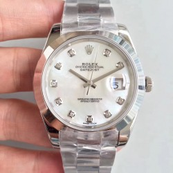 Replica Rolex Datejust II 126300 41MM N Stainless Steel Mother Of Pearl Dial Swiss 3235