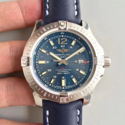 Replica Breitling Colt Automatic 44MM A7438811/C907-105X GF Stainless Steel Blue Dial Swiss 2824-2