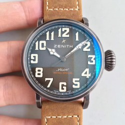 Replica Zenith Pilot Type 20 Extra Special Ton Up 11.2430.679.21.C801 XF Stainless Steel Anthracite Dial Swiss 2824-2