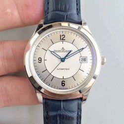 Replica Jaeger-LeCoultre Master Control Date 1548530 ZF Stainless Steel Silver & White Dial Swiss Caliber 899/1