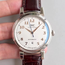 Replica IWC Da Vinci Automatic IW356601 TW Stainless Steel White Dial Swiss 2892