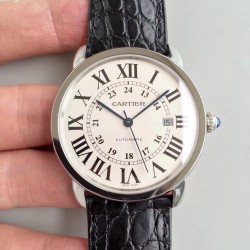 Replica Ronde Solo De Cartier W6701010 42MM ZF Stainless Steel White Dial M9015