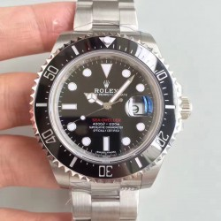 Replica Rolex Sea-Dweller 126600 50TH Anniversary 2018 N Stainless Steel Black Dial Swiss 2836-2