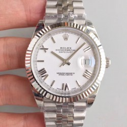 Replica Rolex Datejust II 126334 41MM 2018 EW Stainless Steel White Dial Swiss 3235
