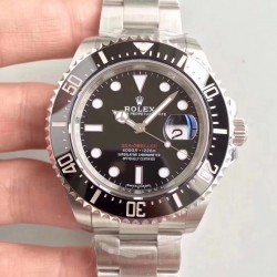 Replica Rolex Sea-Dweller 126600 50TH Anniversary 2018 AR Stainless Steel 904L Black Dial Swiss 2824-2