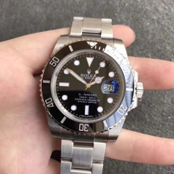 Replica Rolex Submariner Date 116610LN 2018 AR Stainless Steel 904L Black Dial Swiss 2824-2