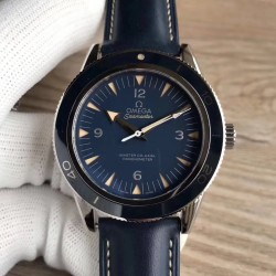 Replica Omega Seamaster 300M Co-Axial 41MM 233.92.41.21.03.001 XF Stainless Steel Blue Dial Swiss 8400