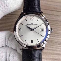 Replica Jaeger-LeCoultre Master Control Date 1548420 ZF Stainless Steel Silver Dial Swiss Caliber 899/1