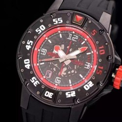 Replica Richard Mille RM028 PVD Red Dial Swiss 7751