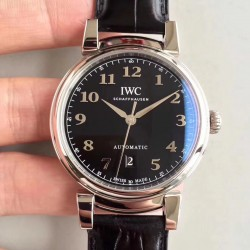 Replica IWC Da Vinci Automatic IW356601 TW Stainless Steel Black Dial Swiss 2892