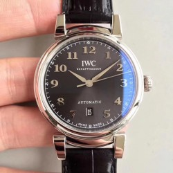 Replica IWC Da Vinci Automatic IW356601 TW Stainless Steel Anthracite Dial Swiss 2892