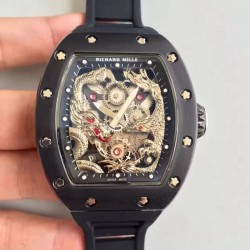 Replica Richard Mille RM57-01 Jackie Chan PVD Silver Dial Dial M9015