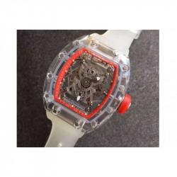 Replica Richard Mille RM056-02 Shappire Red & Skeleton Dial M9015
