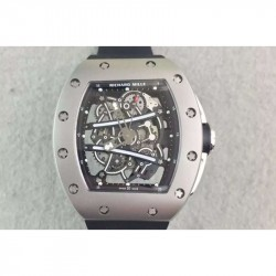 Replica Richard Mille RM61 Titanium Black Skeleton Dial M9015