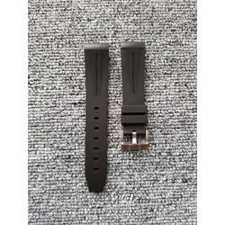 Replica Rolex Black Rubber B Strap for Submariner/Yacht-Master 20MM