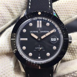 Replica Ulysse Nardin Diver Le Locle 3203-950 SY Stainless Steel Black Dial Swiss 2824-2