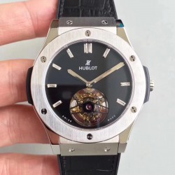 Replica Hublot Classic Fusion Tourbillon Night Out 505.CS.1270.VR TF Stainless Steel Black Dial Swiss HUB6011