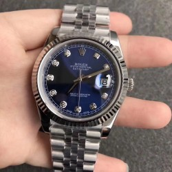 Replica Rolex Datejust II 126334 41MM N Stainless Steel Blue Dial Swiss 3235