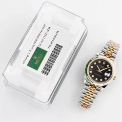 Replica Rolex Datejust II 116333 41MM GM Stainless Steel & Yellow Gold Black Dial Swiss 3235