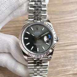 Replica Rolex Datejust II 126334 41MM RE Stainless Steel Anthracite Dial Swiss 3235