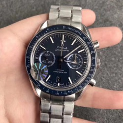 Replica Omega Speedmaster Moonwatch Co-Axial Chronograph 44.25MM 311.90.44.51.03.001 OM V2 Stainless Steel Blue Dial Swiss 9300