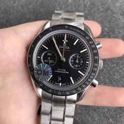 Replica Omega Speedmaster Moonwatch Co-Axial Chronograph 44.25MM 311.30.44.51.01.002 OM V2 Stainless Steel Black Dial Swiss 9300