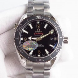 Replica Omega Seamaster Planet Ocean 600M Professional 232.30.42.21.01.001 42MM MKS Stainless Steel Black Dial Swiss 8500