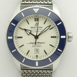 Replica Breitling Superocean Heritage II 46MM AB202012G828152A N Stainless Steel White Dial Swiss 2824-2