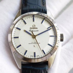 Replica Omega Constellation Globemaster 39MM Stainless Steel White Dial Swiss 8913