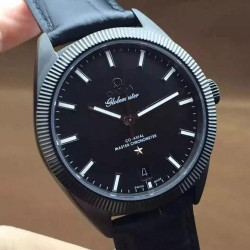 Replica Omega Constellation Globemaster 39MM PVD Black Dial Swiss 8913