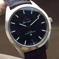 Replica Omega Constellation Globemaster 39MM Stainless Steel & Rose Gold Black Dial Swiss 8501