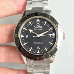 Replica Omega Seamaster 300 Spectre 007 Limited Edition 233.32.41.21.01.001 VS Stainless Steel Black Dial Swiss 8400