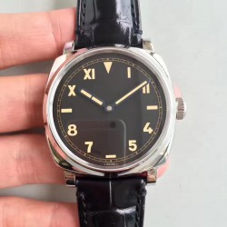 Replica Panerai Radiomir 1940 3 Days California PAM718 XF Stainless Steel Black Dial Swiss P1000