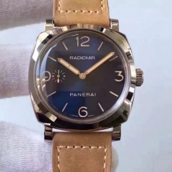 Replica Panerai Radiomir 1940 PAM690 SF Stainless Steel Blue Dial Swiss P3000