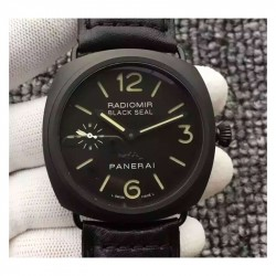 Replica Panerai Radiomir Black Seal PAM292 ZF Ceramic Black Dial Swiss OP XI