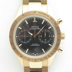 Replica Omega Speedmaster ´57 Co-Axial Chronograph 41.5MM 331.50.42.51.02.002 OM Rose Gold Black Dial Swiss 9301