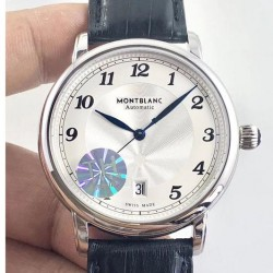 Replica Montblanc Star Legacy Automatic 42MM 116511 TH Stainless Steel Silver Dial Swiss MB 24.01