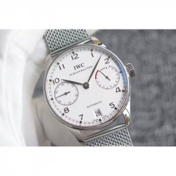 Replica IWC Portuguese IW5007 YL V3 Stainless Steel White Dial Swiss 52010