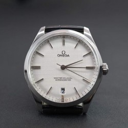Replica Omega Master 40MM Stainless Steel White Dial Swiss 8511