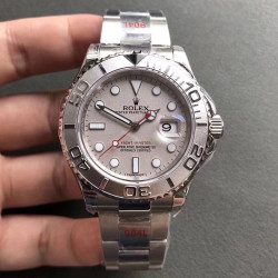 Replica Rolex Yacht-Master 40 116622 GM Stainless Steel 904L Grey Dial Swiss 3135