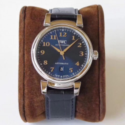 Replica IWC Da Vinci Automatic IW356601 MK Stainless Steel Blue Dial Swiss 2892
