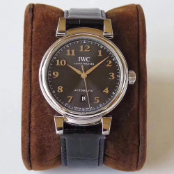 Replica IWC Da Vinci Automatic IW356601 MK Stainless Steel Anthracite Dial Swiss 2892