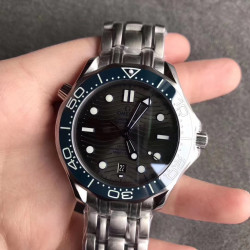 Replica Omega Seamaster Diver 300M 210.30.42.20.06.001 UR Stainless Steel Anthracite Dial Swiss 8800