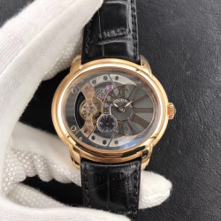 Replica Audemars Piguet Royal Millenary 4101 15350OR.OO.D093CR.01 V9 Yellow Gold Skeleton Dial Swiss 4101