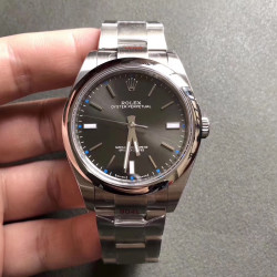 Replica Rolex Oyster Perpetual 39 114300 GM Stainless Steel 904L Anthracite Dial Swiss 3132