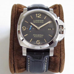 Replica Panerai Luminor Marina 1950 3 Days Automatic Acciaio PAM1312 44MM ZF Stainless Steel Black Dial Swiss P9010
