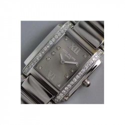 Replica Patek Philippe Ladies Twenty-4 4910/10A-010 Noob Stainless Steel Anthracite Dial Swiss Ronda Quartz